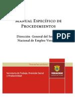 Manual de Procedimientos SNE