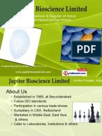 Jupiter Bioscience Limited Andhra Pradesh India