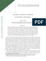 Shahn Majid- Algebras and Hopf Algebras in Braided Categories