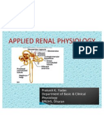 Applied Renal Physiology
