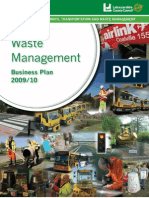 Waste Business Plan