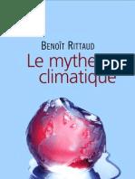 Le Mythe Climatique - Benoit Rittaud