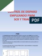 Circuito de Disparo Empleando Pwm Para Scr y Triac