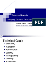 Technical Goals of Networks