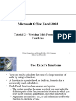 Microsoft Office Excel 2003-2