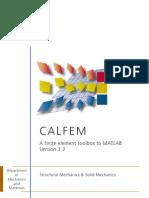 Calfem Manual