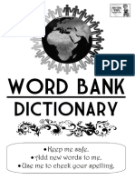 Tom's TEFL - KS2 Word Bank Dictionary
