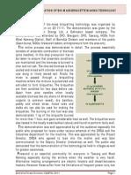 Pine Briquette Report