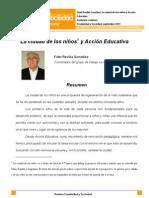 """""""La Ciudad de los Niños y Acción Educativa"""", de Fidel Revilla"""