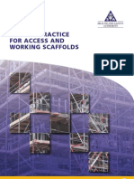 Raking Tubes - Extract CoP for Access and Working Scaffolds 2008