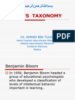Presentation Taxonomy Bloom (1)