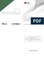 LG Optimus Black P970 Userguide