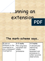 Planning an Extension