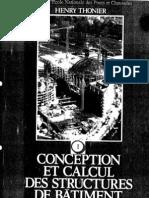 Conception Et Calcul Des Structures de Batiment - Tome 1