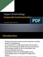 Corporate Communication Use of Technology