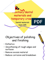 Lecture 18 & 19- Abrasives and Temporary Crowns Material (Slides)