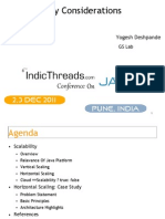 Java Scalability Considerations - Yogesh Deshpande