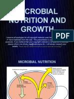 (Micro Bio) Microbial Nutrition