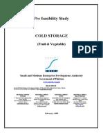 SMEDA Cold Storage (Fruit & Vegetable)