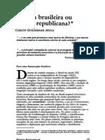 63574266 Cultura Brasileira Ou Cultura Republican a Carlos Guilherme Mota