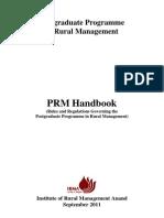 PRM Handbook September) 2011) Final