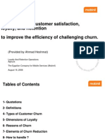 Customer Churn Retention Publishingl