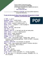 diccionario japones espanol