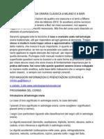 Corso Di Astrologia Oraria Classica a Milano e a Bari