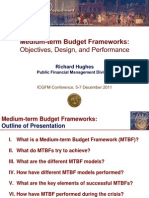 Medium-term Budget Frameworks