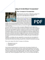 What is the Meaning of Jewish Ritual Circumcision?