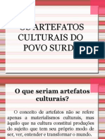 Os Artefatos Culturais Do Povo Surdo
