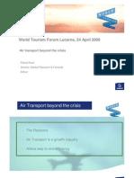 Air Transport Beyond the Crisis_Pascal Huet_WTFL 2009