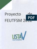 Programa Oficial Lista V