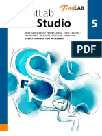 Font Lab Manual
