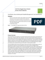 Data Sheet SLM2024 24-POrt Gigabit