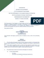 DTC agreement between Pakistan and Saudi Arabia