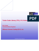 ECC Turbo Code Library