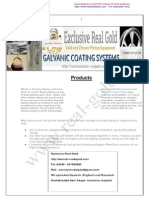 Galvanic Coating Spare Parts