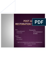 Post and Core Restoration Systems