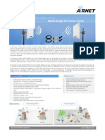 Datasheet AIRNET 300Mb 4.9 5.8GHz Bridge PtP Kit Spanish