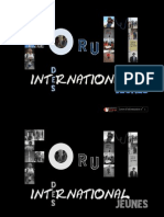 Newsletter 5 - Forum International des Jeunes 2011 - Salé