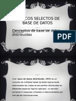 Topicos Selectos de Base de Datos