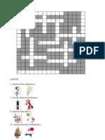 Crossword - Nationalities --- By Feli