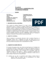 Silabo Auditor Ti A Financier A II