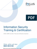 Information Security Training and Certification 1.02