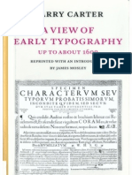 "Harry Carter, ""A View of Early Typography Up to the 1600"" (Hypen Press, London, 2002 [1969])"