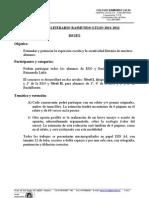 Bases Concurso Literario 11-12