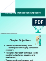 Managing Transaction Exposure