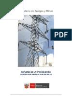 Anteproyecto de La LT 500 kV Chilca-Marcona-Caraveli RevA (Mario Nunez 06-11-09)