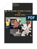 The Benefits of Online Learning for At-Risk Youth